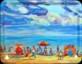 Bandeja La playa