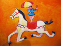 La muñeca y el caballo